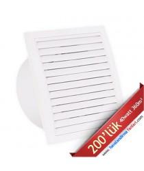 200'lük Fresh Banyo Wc Fanı DT-BTA-200