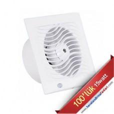 İnce Sessiz Banyo Wc Fanı (D-BTA-100)