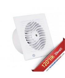 İnce Sessiz Banyo Wc Fanı 120'lik (D-BTA-120)