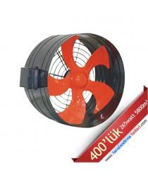 400'lük Boru Tipi Dıştan Rotorlu Kanal Fanı