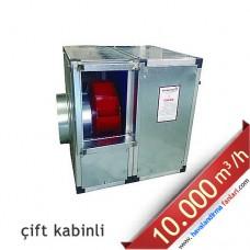 3 KW 10.000 m3 Çift Kabinli Hücreli Fan