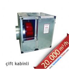 7.5 KW 20.000 m3 Çift Kabinli Hücreli Fan