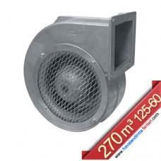 KAGS 125-60 Alüminyum Gövdeli Dıştan Rotorlu Radyal Fan