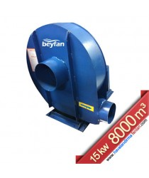 15 Kw 8000 m³ Orta Basınçlı Salyangoz Fan