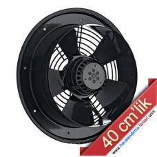 40 cm'lik Dıştan Rotorlu Aksiyel Aspiratör