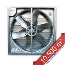 10.500 m³/h Otomatik Panjurlu Sera Fanı