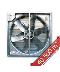 40.500 m³/h Otomatik Panjurlu Sera Fanı