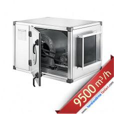 3 KW 9500 m3 Seyrek Kanatlı Hücreli Fan Aspiratör