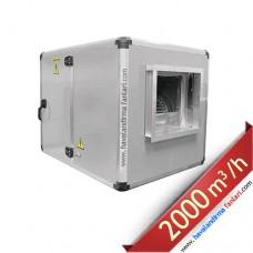 0.75 KW 2000 m3 Sık Kanatlı Hücreli Fan Aspiratör