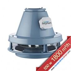 Harici Motorlu 1800 m³/h Şömine Baca Fanı