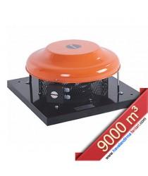 FCF 500 Yatay Atışlı Radyal Çatı Fanı (9000 m³)