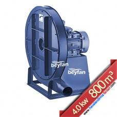 4 KW 800 m³ Yüksek Basınçlı Körüklü Salyangoz Fan