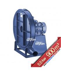 5.5 KW 900 m³ Yüksek Basınçlı Körüklü Salyangoz Fan