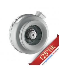 125'lik Yuvarlak Kanal Tipi Fan (LKT-125)